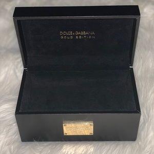 Dolce & Gabbana Gold Edition Sunglass Case Display